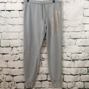 VS Pink French terry Sweatpants